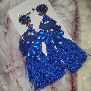 Blue Earrings 💙 Brand New